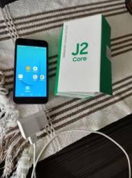 Samsung J core 2 bem novo Roxo