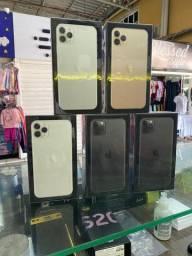 Iphone 11 pro max256gb novo lacrado