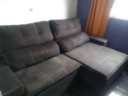 Sofá retrátil e reclinável 2,47
