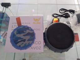 CAIXA DE SOM A PROVA D'ÁGUA, ENTRADA USB, ENTRADA CARTÃO SD...