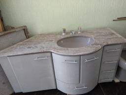 Pia + Gabinete para banheiro