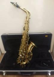 Sax Alto Vogga VSAS 701 com Estojo