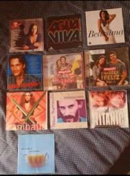 CDS E K7 DE NOVELAS