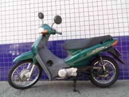 Honda Biz; 100 ES; 2005; verde; 9993