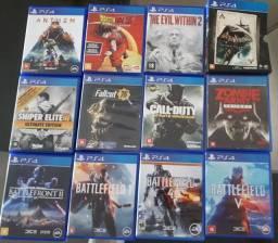 Jogos de PS4 a partir de R$ 40,00.