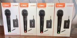 Microfone Sem Fio Profissional Lelong Le-996w Profissional