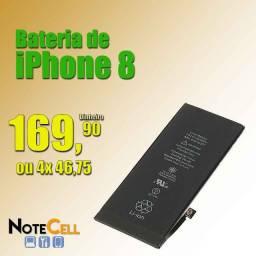 Bateria de iPhone 8 Já Instalada!!!