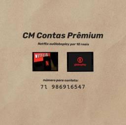 Netflix ou Globoplay por 10R$