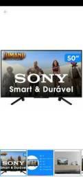 tv smart da sony com de garantia  de 2 anos  50 polegadas