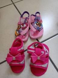 Sandálias de bebe Tam 18-19
