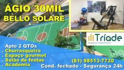 Apartamento padrão MRV em Valparaíso R$ 28 mil Ágio