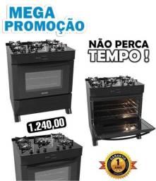 FOGÃO MAX COOK 5 BOCAS