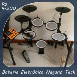 Bateria Eletrônica Nagano Tech-1