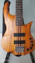 Contrabaixo 5 cordas Luthier