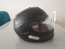 Capacete Moto 62 - MT - Preto Fosco