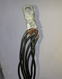 Material- cabos elétricos diversas espessuras