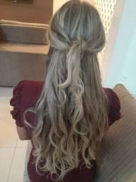 Lindo cabelo com mechas - MEGA HAIR