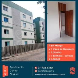 Apartamento Aluguel no Centro de Linhares/ES - Ed. Miragem