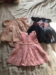 Vestidos semi novos tamanho P