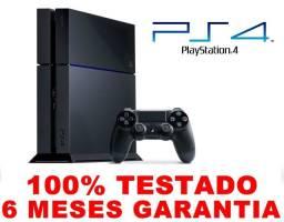 PS4 Fat 500gb, 6 meses de garantia, AceitamosTroca, Loja física 16 anos de mercado