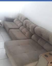 Sofá retrátil reclinável 3.20m