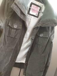 Jaqueta de veludo