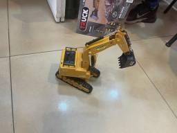 Reta escavadeira controle