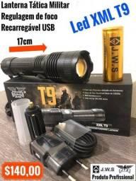 Lanterna Tática Militar Utra potente - Led T9