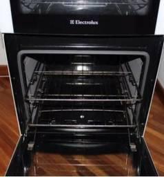 Fogão Electrolux duplo forno com grill lindo 710 reais