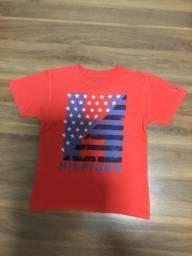 Camisa infantil Tommy Hilfiger tamanho 6 anos