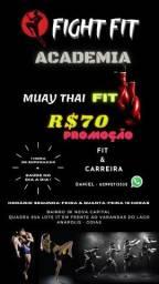 Muay Thai Anápolis R$70 por mês