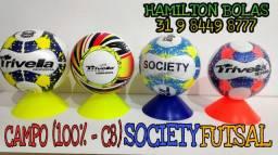 Bolas de Campo Futsal Society Aceitamos Cartão