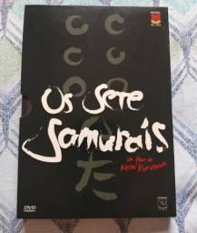 DVD Os Sete Samurais Duplo e Com Luva