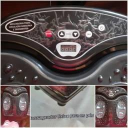 Massageador Car Relax Shiatsu Para Costas Fisiomedic<br><br>E um massageador para os pés