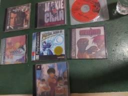 7 jogos de Playstation 1 originais