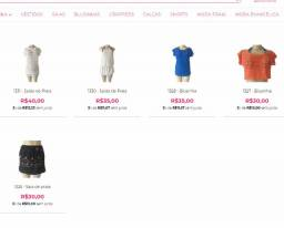 Lote, atacado de Moda Praia com 19 peças devido a fechamento de Loja Online Migles.com.br