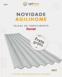Telha Fibrocimento (brasilit, eternit)