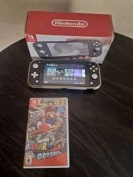 Nitendo switch com vários jogos