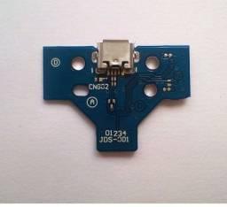 Placa USB Carregador de Bateria Controle PS4 Modelo JDS-01/011/040/055/JDS-050