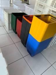 Cestinha plástica para supermercado