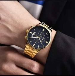 relógio masculino relógio Pulso de Quartzo Militar Luxuoso/ Casual Fashion