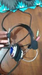 Fone com microfone-pra conserto