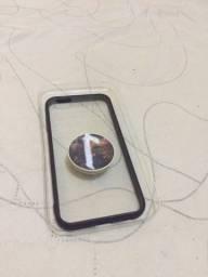 Capinha iPhone 6 com suporte pra dedo