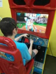 Simulador jogo corrida maluca