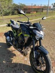 Z900 Kawasaki 2021 apenas 3 mil km ABS, painel TFT, na garantia de fábrica até 2023