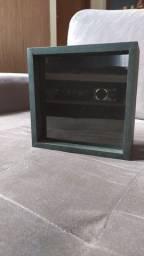 Caixa de Madeira com Espelho de Vidro