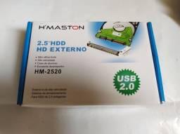 Hd Case Externo 2.5 Alta Velocidade Novo