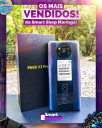 Poco X3 Pro 6/128GB Black / Semana dos pais / @smartshopmga