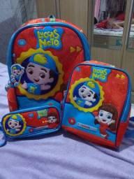 Kit de bolsa escolas Luccas Neto Que Canta.