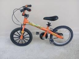 Bicicleta Caloi aro 16 seminova